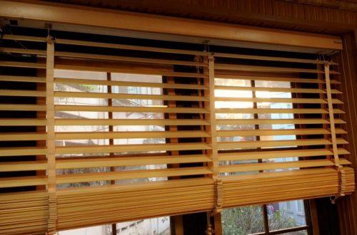 Rèm sáo gỗ tự động khắc phục mọi nhược điểm của rèm gỗ